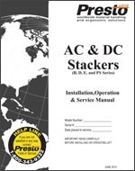 AC & DC Stackers Manual