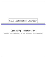 CZC7 Charger Manual