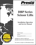 DBP Series Scissor Lifts Manual