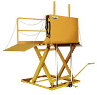PORTABLE DOCK LIFTS REQUIRE NO PIT