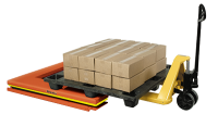 LOW-PROFILE TURNTABLE IS IDEAL FOR MANUAL PALLET LOADING / UNLOADING