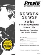 XF, WXF, XP, and WXP Series Scissor Lifts Manual