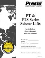 PT & PTS Series Manual