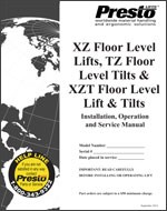 Floor Level Lifts & Tilts Manual